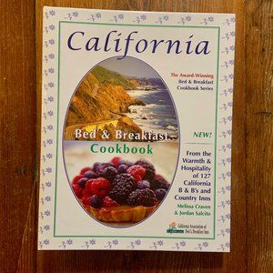 California Bed & Breakfast Cookbook 2004 *NWOT*